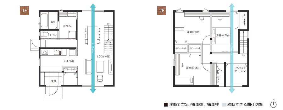 CUBO B PLAN 図面